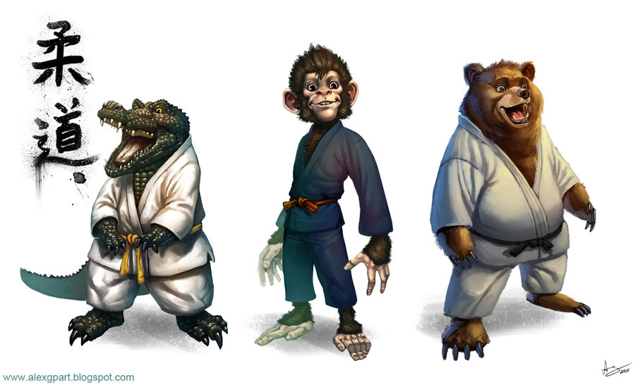 judo_animals_by_toramarusama-d48i048